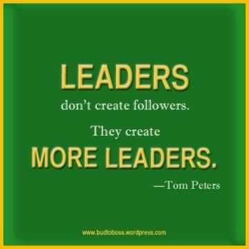 more leaders!