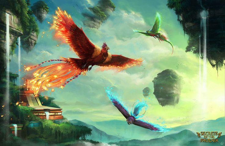 Secrets of the Phoenix by Roggles.deviantar... on @deviantART