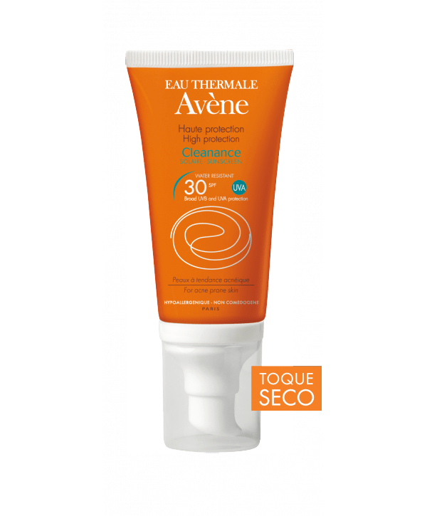 proteger piel con acné del sol