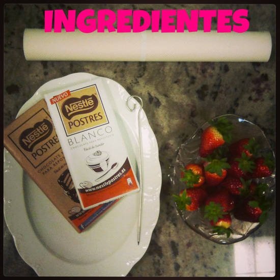 Fresas #Ingredientes