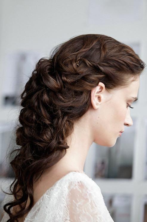 Marchesa Wedding Hairstyle