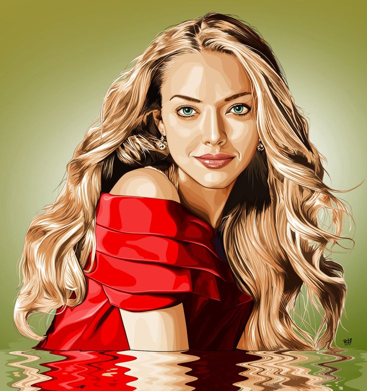 Amanda Seyfried In Vexel by IborArt.deviantar... on @deviantART