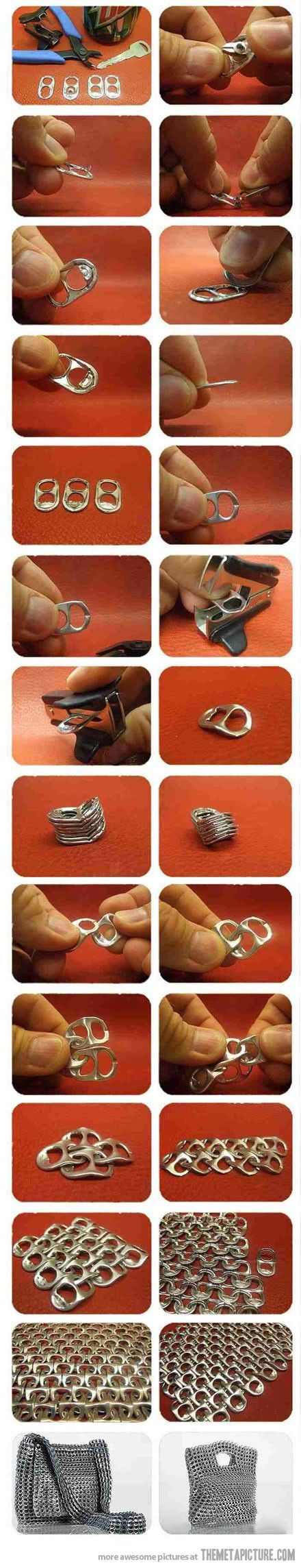 Ideas to Repurpose aluminium can Pull Tabs | ecogreenlove