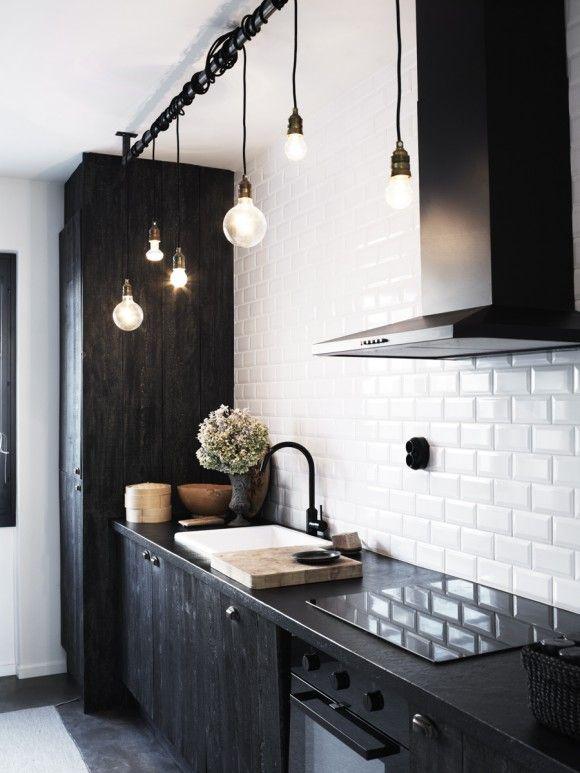 decoracion con focos, decoracion cocinas, decoracion con bombillas