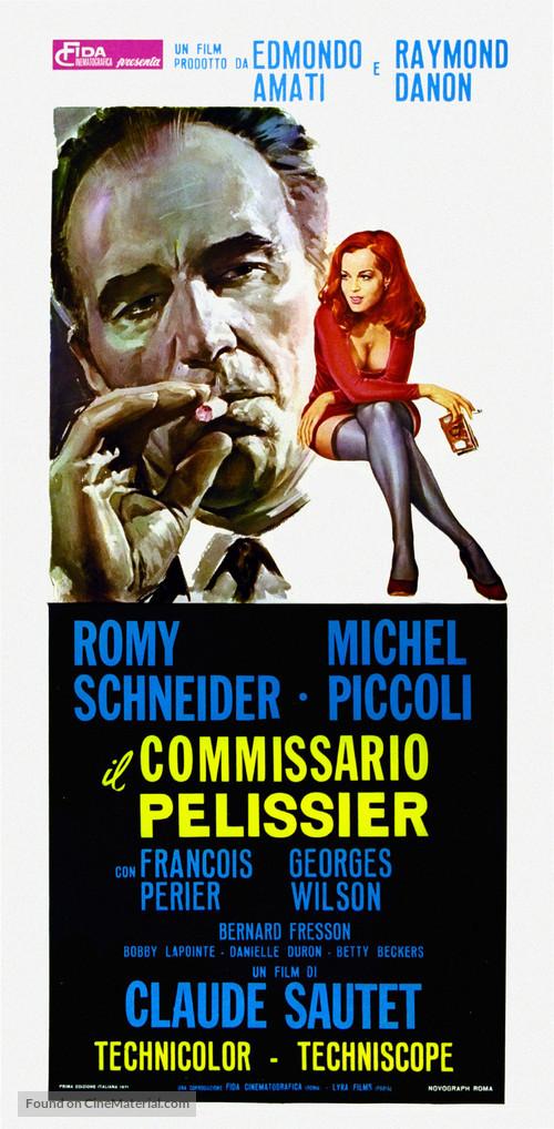 Film Max Et Les Ferrailleurs : ferrailleurs, Ferrailleurs, (1971), Italian, Movie, Poster