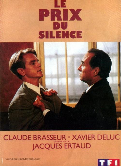 Le Prix Du Silence Film : silence, Silence, (1989), French, Movie, Cover