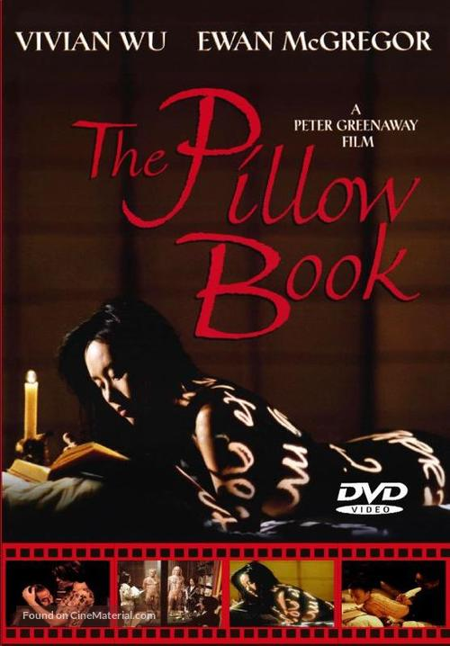 the pillow book 1996 dvd movie cover