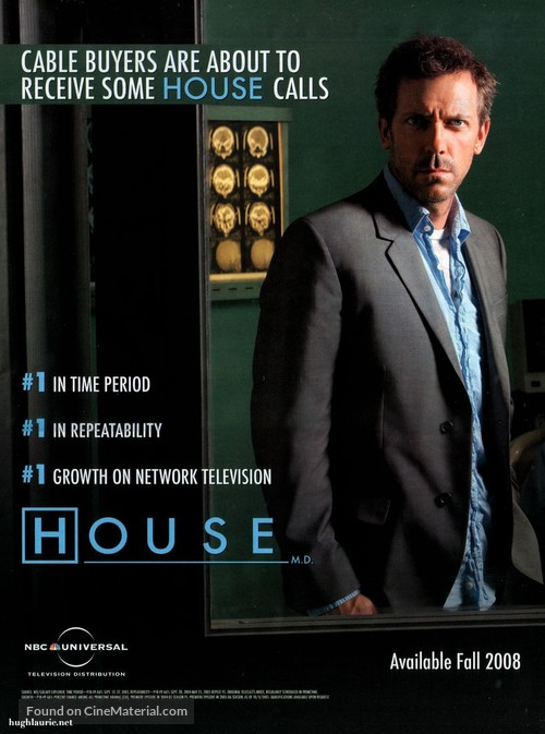 house m d 2004 movie poster