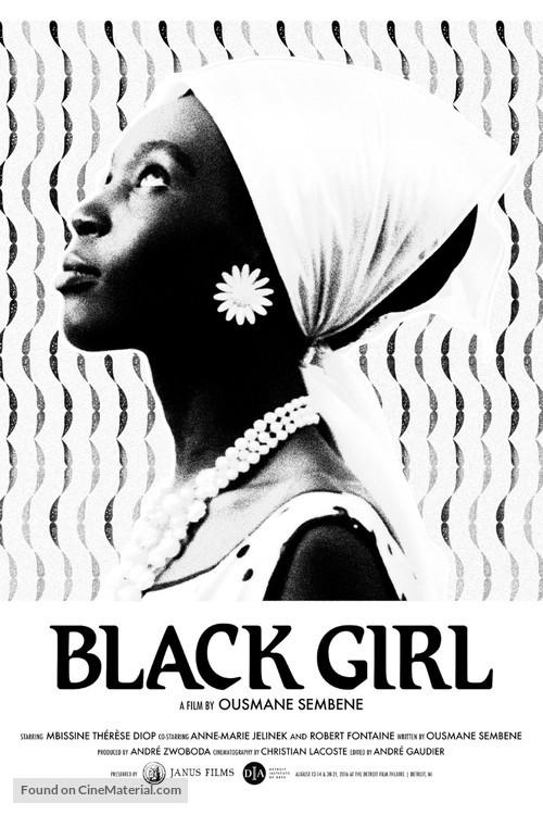La Noire De... : noire, de..., Noire, De..., (1966), Norwegian, Movie, Poster