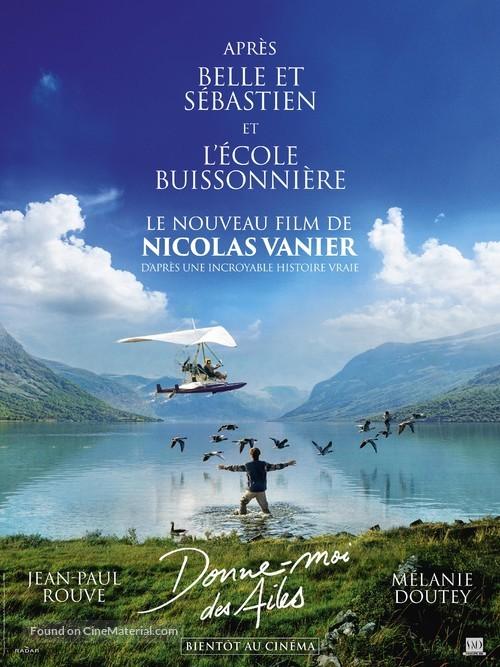 Film Donne Moi Des Ailes Histoire Vraie : donne, ailes, histoire, vraie, Donne-moi, Ailes, (2019), French, Teaser, Movie, Poster