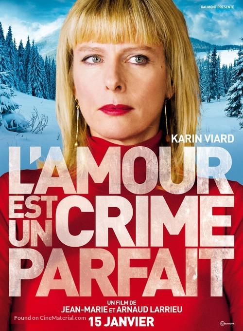 L'amour Est Un Crime Parfait : l'amour, crime, parfait, L'amour, Crime, Parfait, (2013), French, Movie, Poster