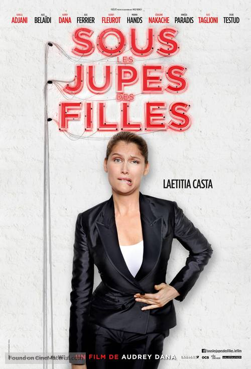 Sous Les Jupes De Fille : jupes, fille, Jupes, Filles, (2014), French, Movie, Poster
