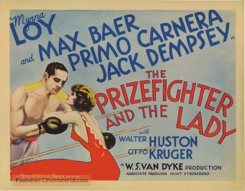 Image result for prizefighter and the lady