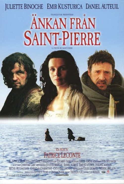 La Veuve De Saint Pierre : veuve, saint, pierre, Veuve, Saint-Pierre, (2000), Swedish, Movie, Poster