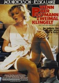 The Postman Always Rings Twice German movie poster