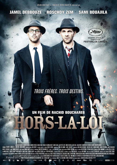 Hors-la-loi 2010 : hors-la-loi, Hors-la-loi, (2010), French, Movie, Poster