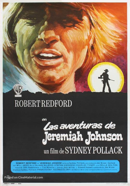 jeremiah johnson 1972 spanish movie