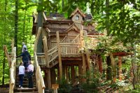"""Aufgang zum Baumhaus"" Natur-Resort Tripsdrill ..."