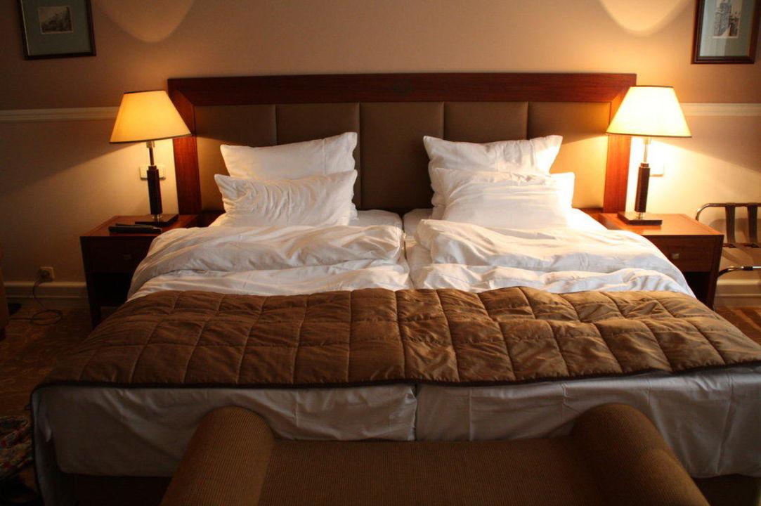"""""""gemütliches Bett"""" Hotel Esplanade (prag  Praha"""