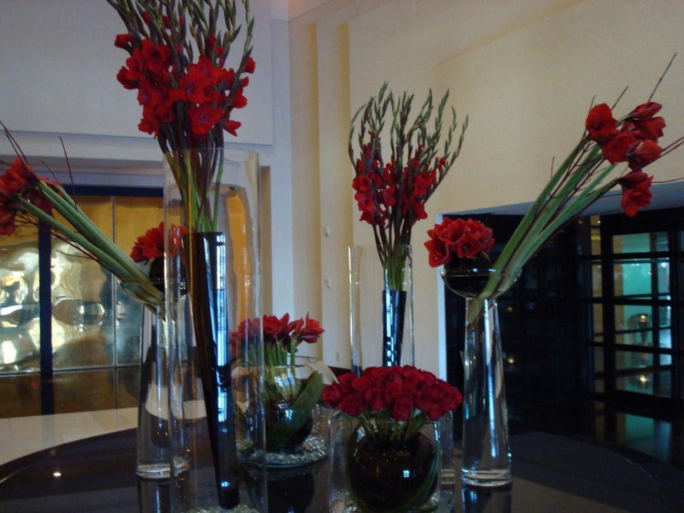 Eingangsbereich mit schner Blumendeko Delano Las Vegas