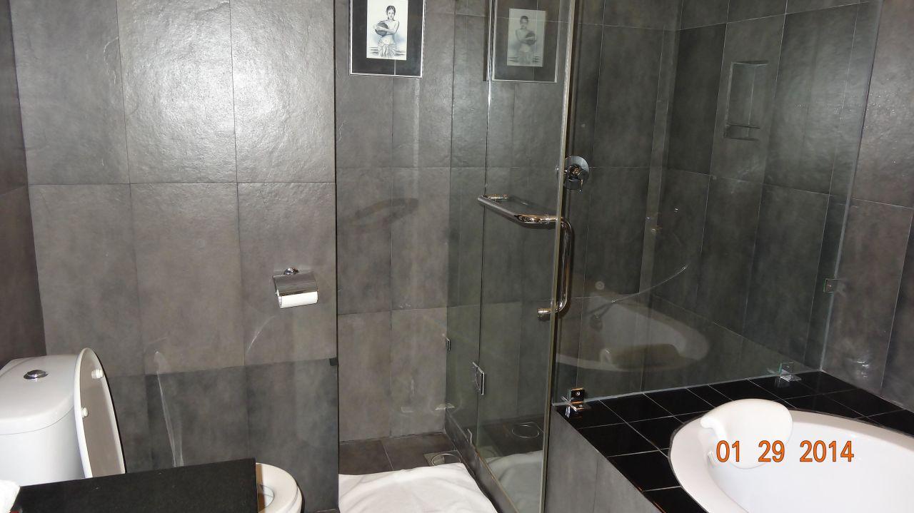 moderne badezimmer mit dusche und badewanne lwjacobs badezimmer, Badezimmer dekoo