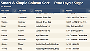 Free FileMaker Example Files | Simple Column Sort Solution | 8-16-16 | FM 14+
