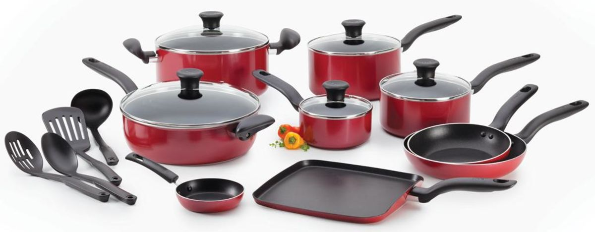 kitchen pot sets lowes black sink best nonstick induction cookware things headline for