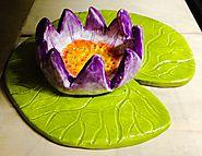 Lilypad & Lotus Flower Ceramics Lesson