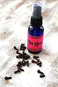 Vanilla Clove Body Oil Spray   HelloNatural.co