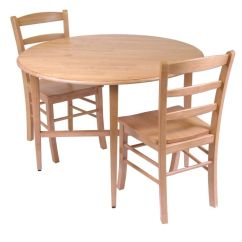 Space Saver Kitchen Table And Chairs Unfinished Best Rated Small Drop Leaf 2 | A Listly List