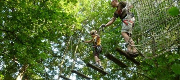 Vacances Tout Saint: x Choses avec faire pour les enfants | Parcours d'accrobranche au Château (DUOLIFE)