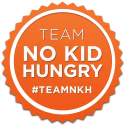 Download the Team No Kid Hungry app to easily support No Kid Hungry (how quickly can you climb the leaderboard?)