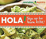 "Avocados from Mexico's ""Team AFM"" Contest will be giving away $100 Amazon Gift"