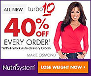 Nutrisystem 40% off $50