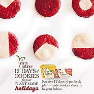 Earth Balance | Lifestyle | 12 Days of Plant-Made Cookies