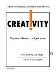 Creativity: Theories, Research, Applications