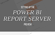 Setting up the Power BI Report Server Preview