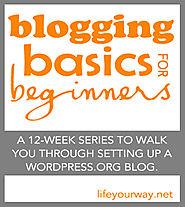 Blogging Basics for Beginners