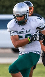(CA) DE/T Will Craig (Granite Bay) 6-5, 265