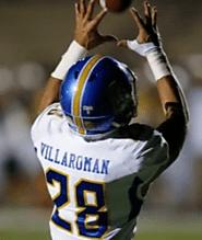 (CA) WR Shane Villaroman (Serra) 5-11, 175