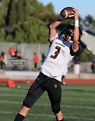 (CA) DB/ATH Roman Sahagun (California High) 6-0, 160