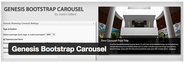 "WordPress › Genesis Bootstrap Carousel "" WordPress Plugins"