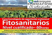Curso Fitosanitario Cualificado Mallorca 2017 inscribete para carnet profesional oficial emitido por Consellería Agri...