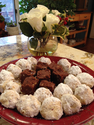 Things To Be Thankful For | Fudge | Cookies | White Roses