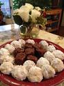 Fudge | Cookies | White Roses