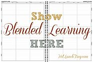 Show Blended Learning in a Lesson Plan   Hot Lunch Tray