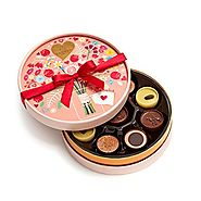 Godiva Chocolatier Chocolate Cups of Love 9 Piece Gift Box
