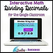 Dividing Decimals: Interactive Math for the Google Classroom | TpT