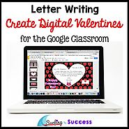 Valentines Day Activities: Create Digital Valentines for the Google Classroom