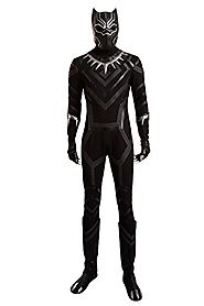 Black Panther Cosplay Costume Suit Hot Movie Outfit Costume Accessory Halloween Male M
